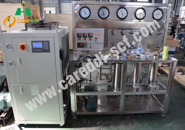 HA120-50-02L Supercritical co2 extraction machine