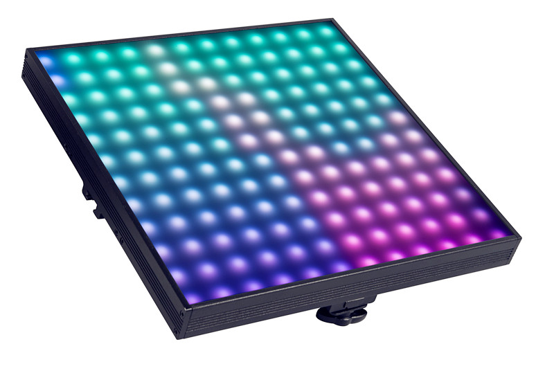 Dmx matrix flexible led tile for light disco