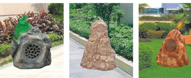 Stone Design Lawn Lamps