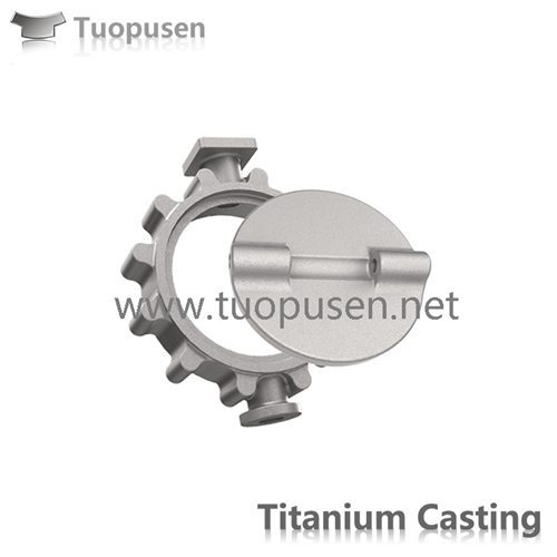 Titanium Investment Castings Titanium butterfly valves Gr2