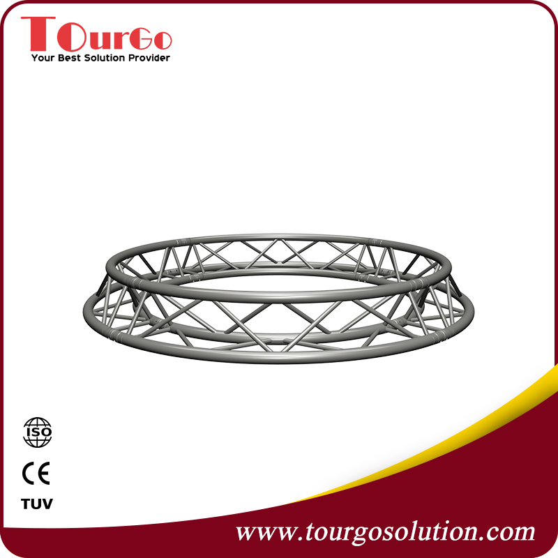 Ceiling Circle Lighting Truss with Square Frame Truss Diameter 1.5m