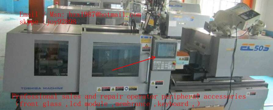 sell Toshiba injection molding EC100S EC60N IS350GS IS220GN using Operator touch screen