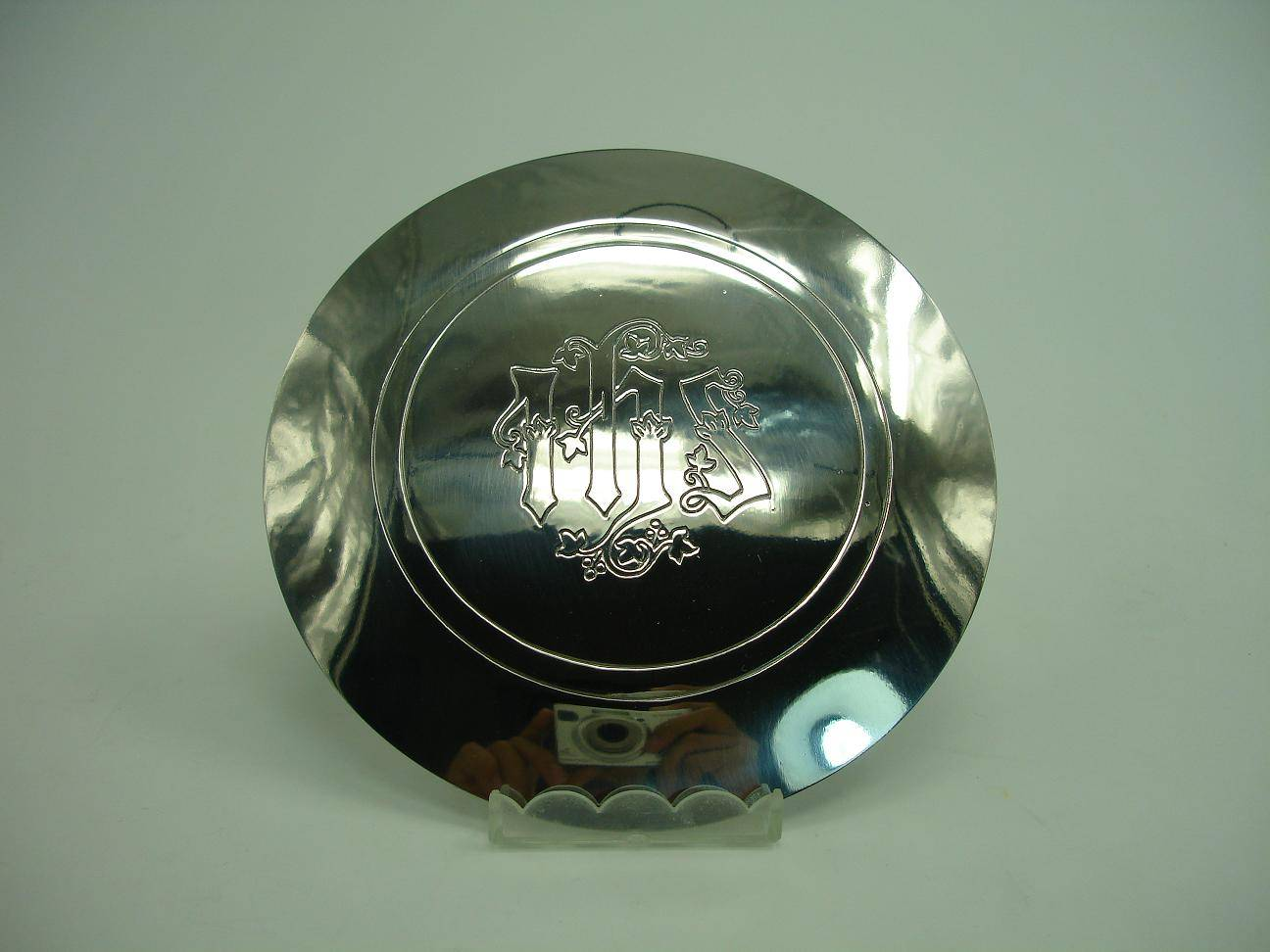 High Quality Stainless Steel Paten Excellent Patina Religious Articles P16-2