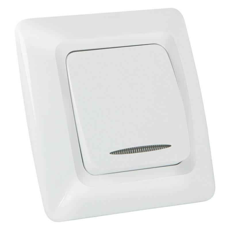 Elite Illuminated single pole switch