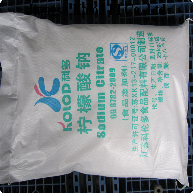 sodium citrate food grade/BP93-manufacturer