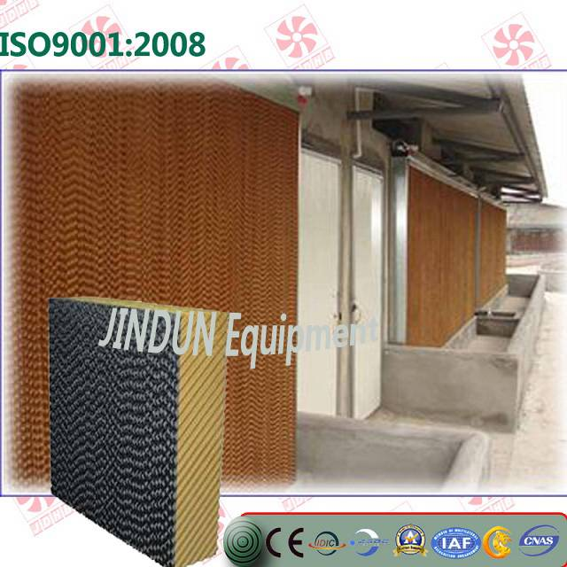 temperature control Evaporative cooling pad for swinehouse