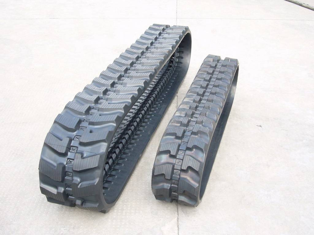 Rubber track for excavator