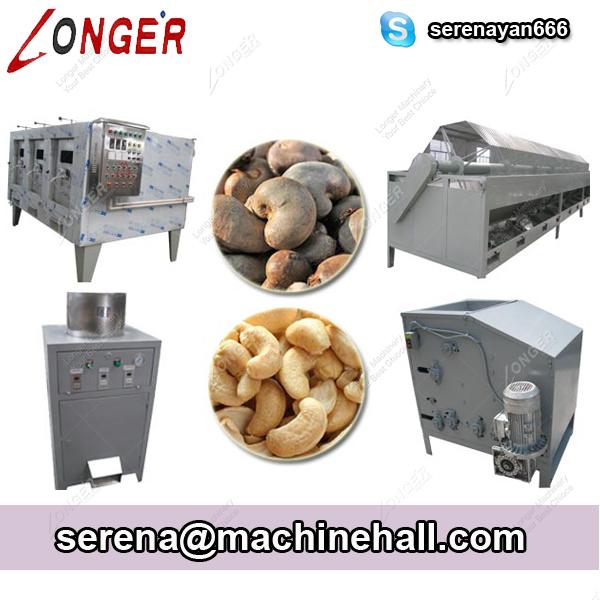Cashew Nut Shelling and Peeling Machine Line|Cashew Processing Machine Line