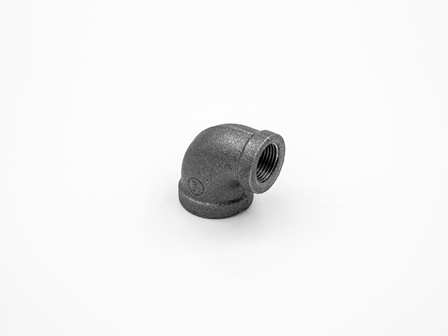 Black Malleable Iron Pipe Fittings-Elbow 90°,reducing
