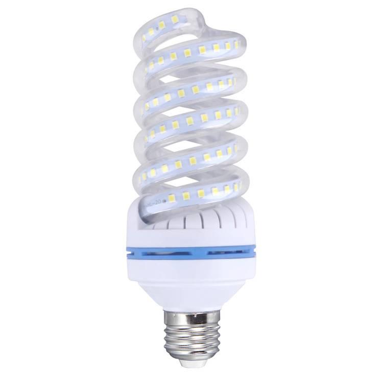 LED bulb Spiral shape , 20w