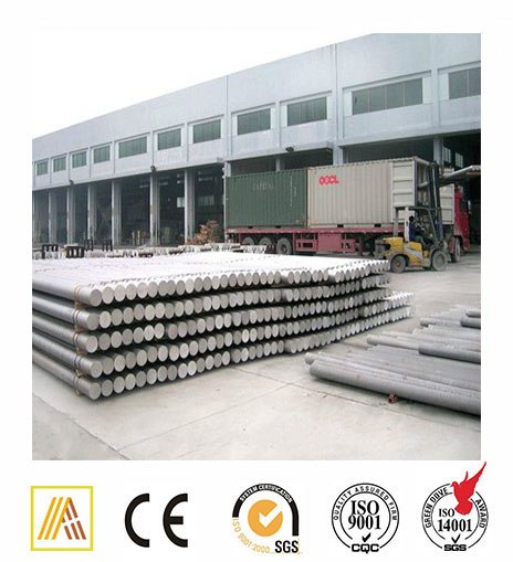 aluminium square round alloy bar 6061 6082 6063 aluminum rod with ABS certificate