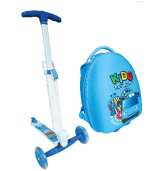Luggage Kick Scooter of kids Backpack scooter