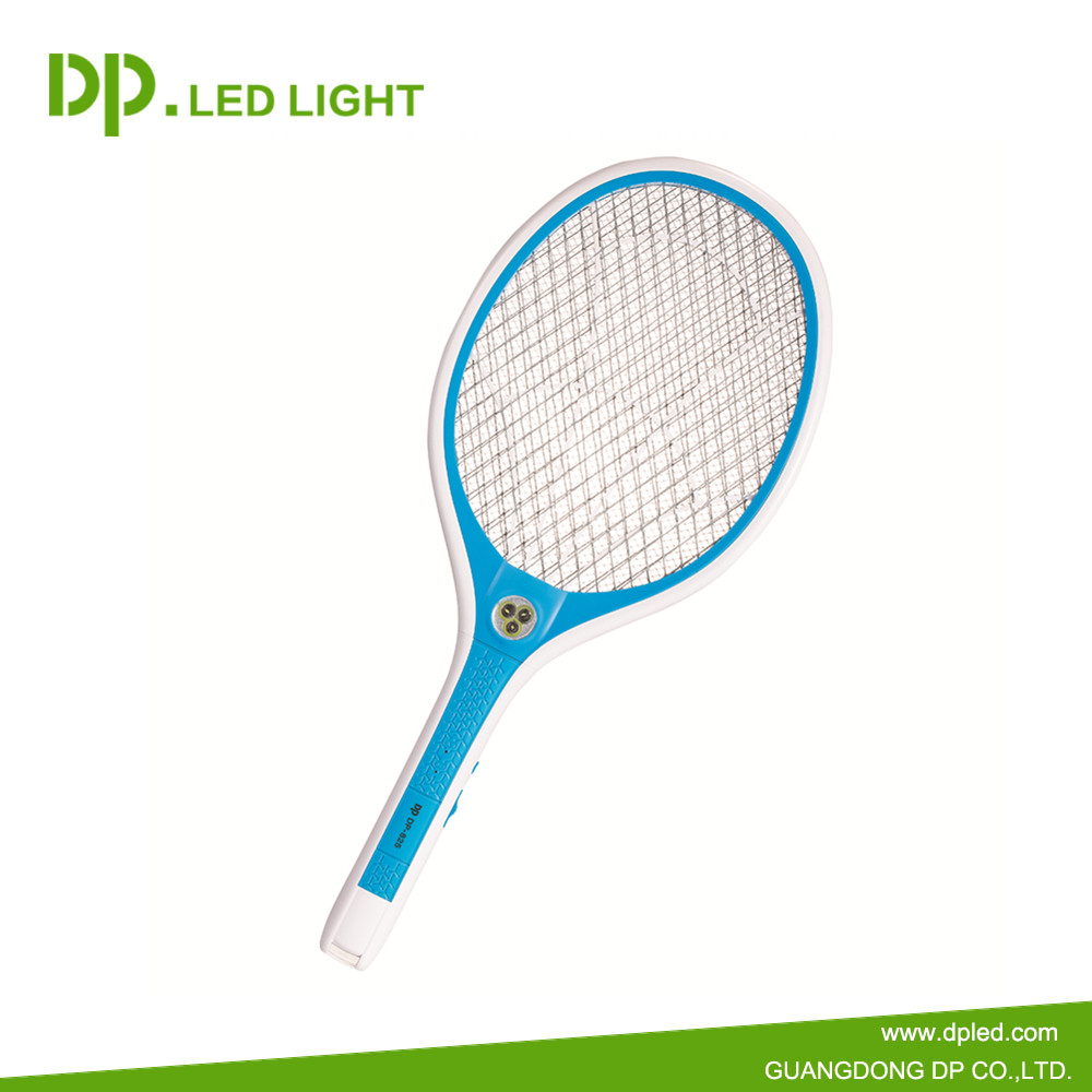 5V USB charger LED mosquito electrical swatter with safety operation