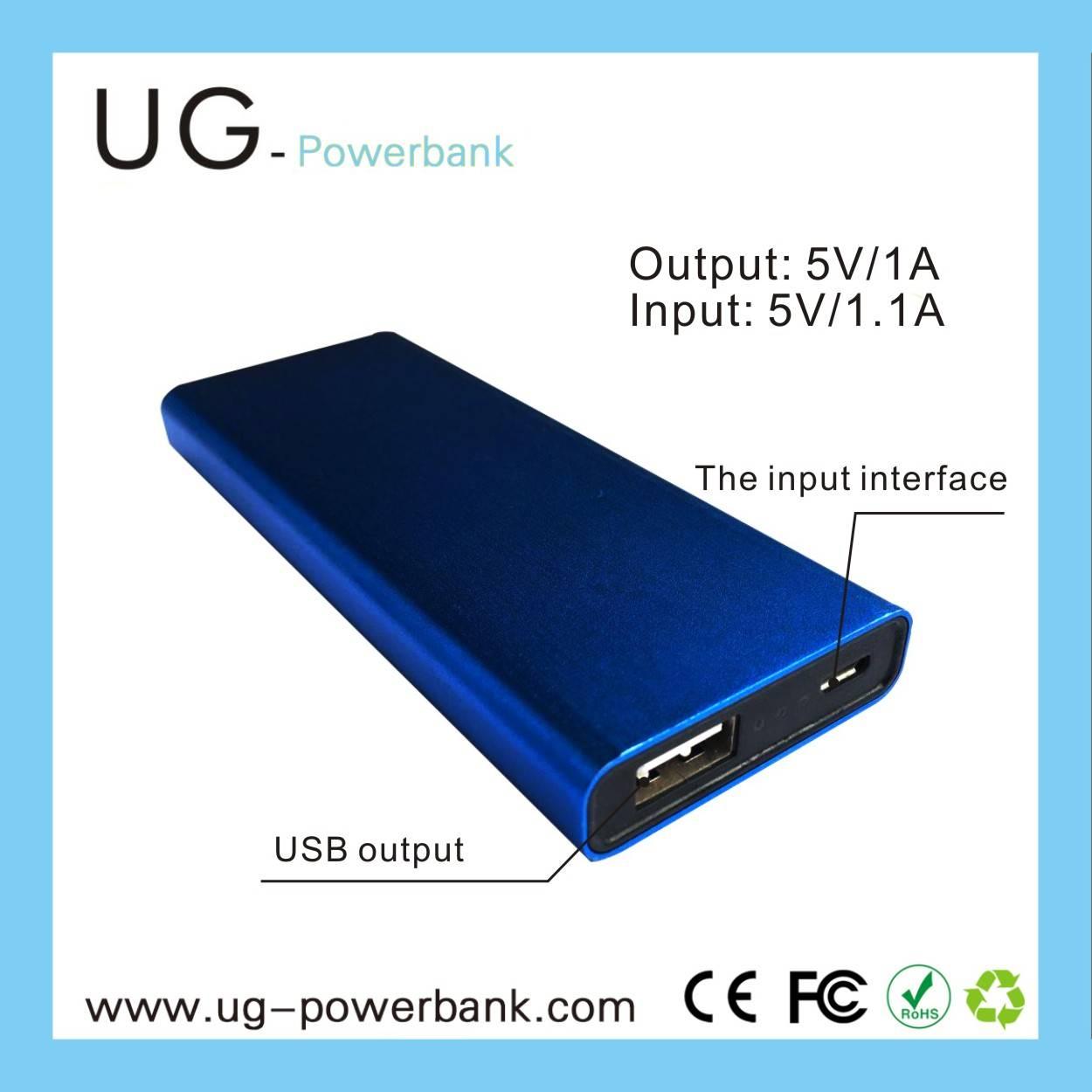 UG Real capacity Polymer Battery Power Bank4000mAh