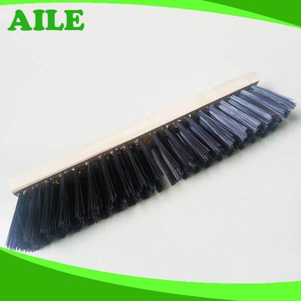 Excellent Quality Wooden Handle Plastic Cleaning Broom