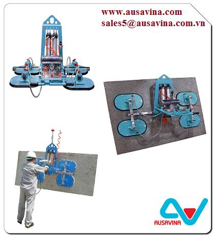 STONE VACUUM LIFTER SVL100 - Lifter stone, saw machine, vacuum lifter, Aframe, carry clamp, material