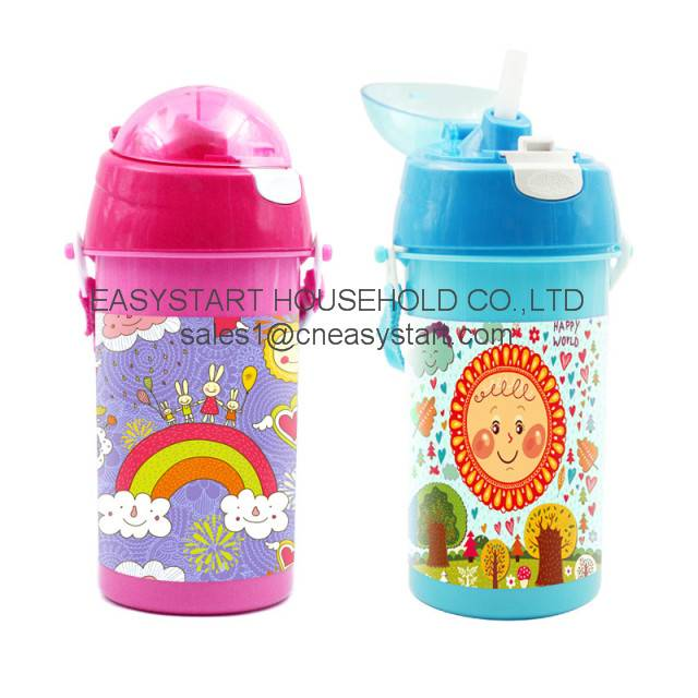 Plastic Water Bottle, Kids Drinking Bottle