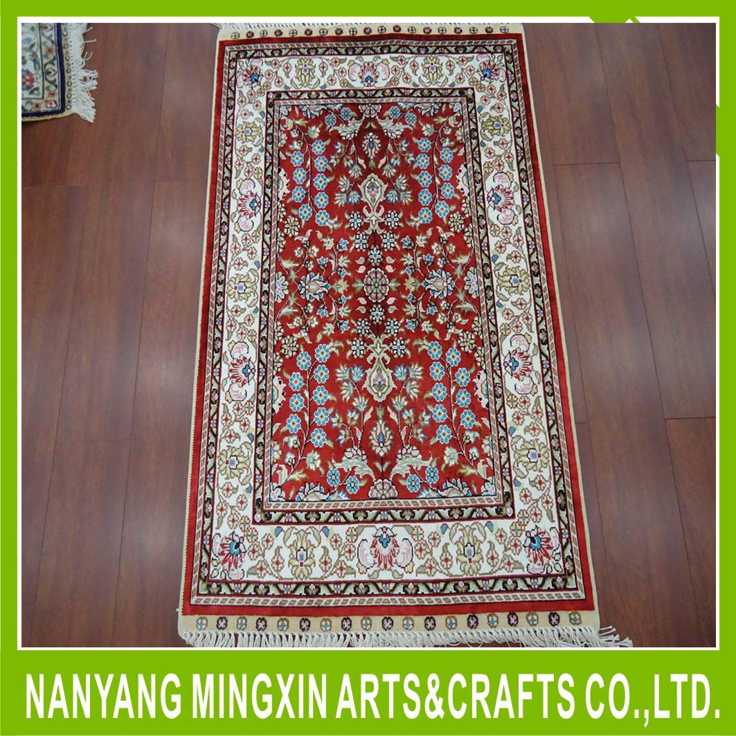 Factory direct wholesale portable intensification silk rugs and carpets
