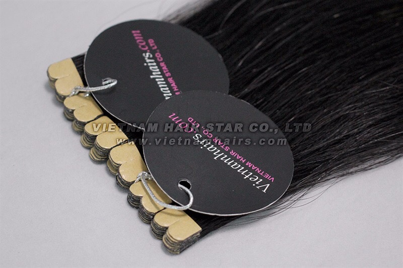 M-tip hair extensions