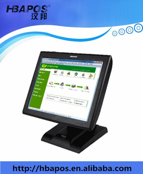 Supermarket 15 Inch Touch Cash Register/Pos System All In One Restaurant Pos Machine HBA-Q1