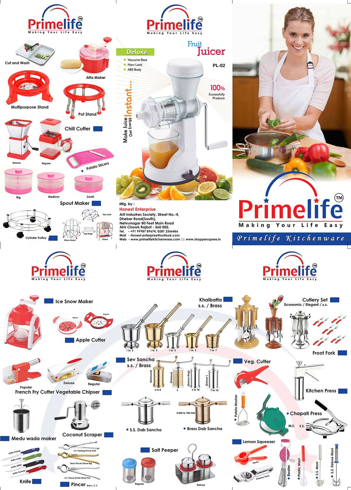 ALL KIND OF KITCHENWARES