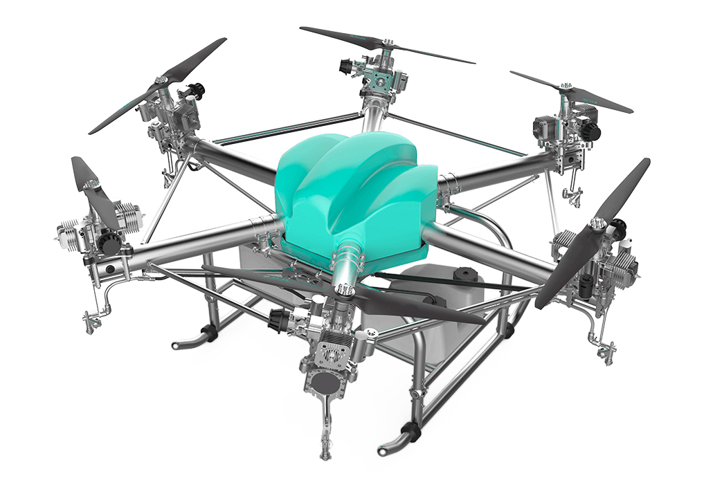 Electric Start Agricultural Drone UAV Spraying support Farming and AG Industry Manufacturer