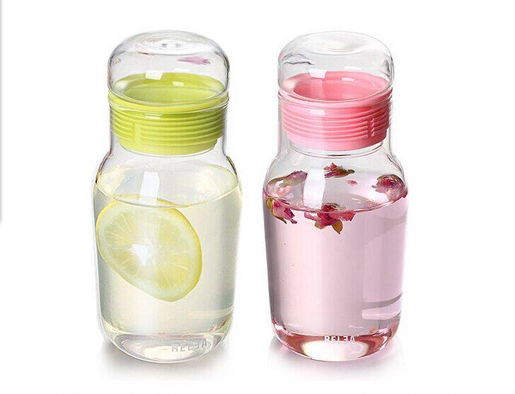 high quality Borosilicate Glass water bottle