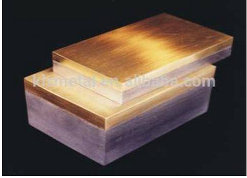 copper + stainless steel double metal clad plate