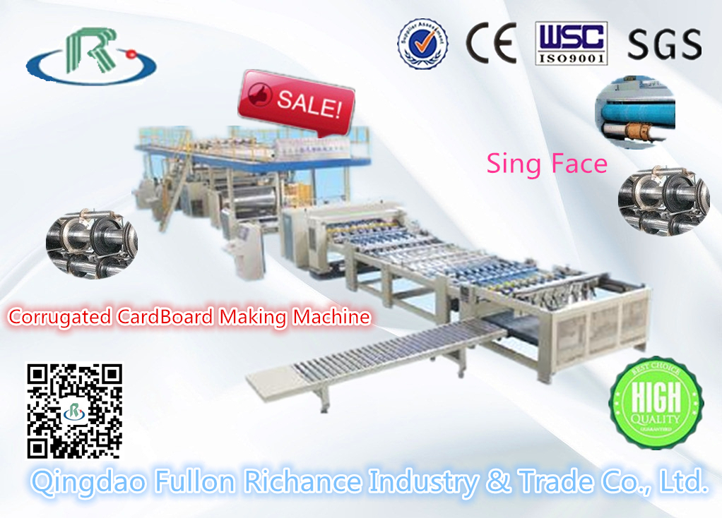 Low Price Complete Corrugated Paperboard Production Line