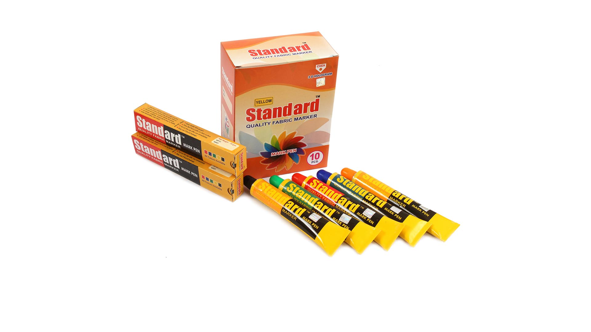 Standard Fabric Marker & Textile Marker - Red