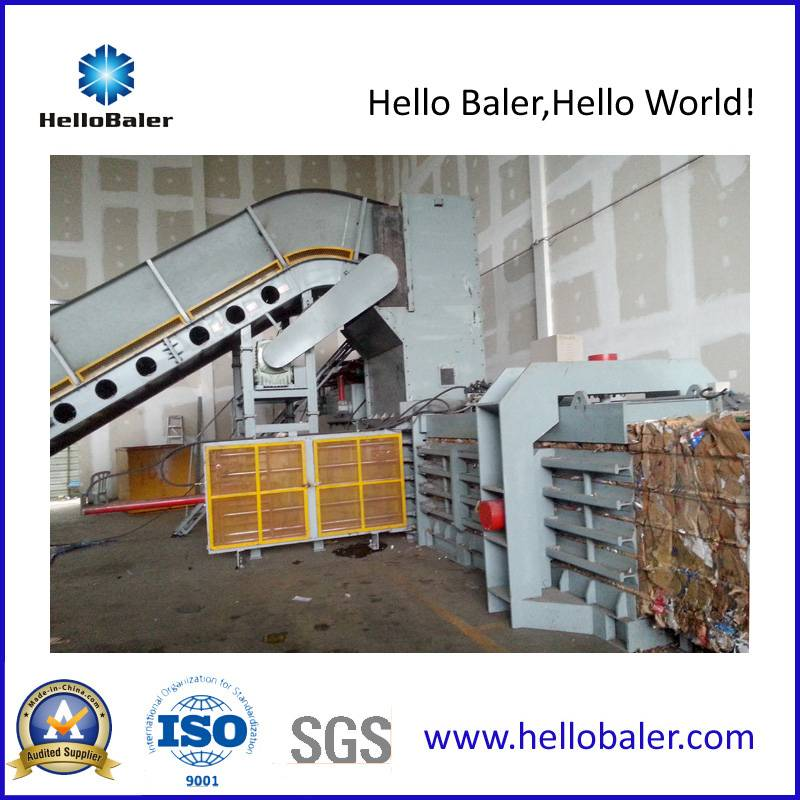 Automatic Horizontal Waste Paper, Cardboard Baler With High Pressing Force