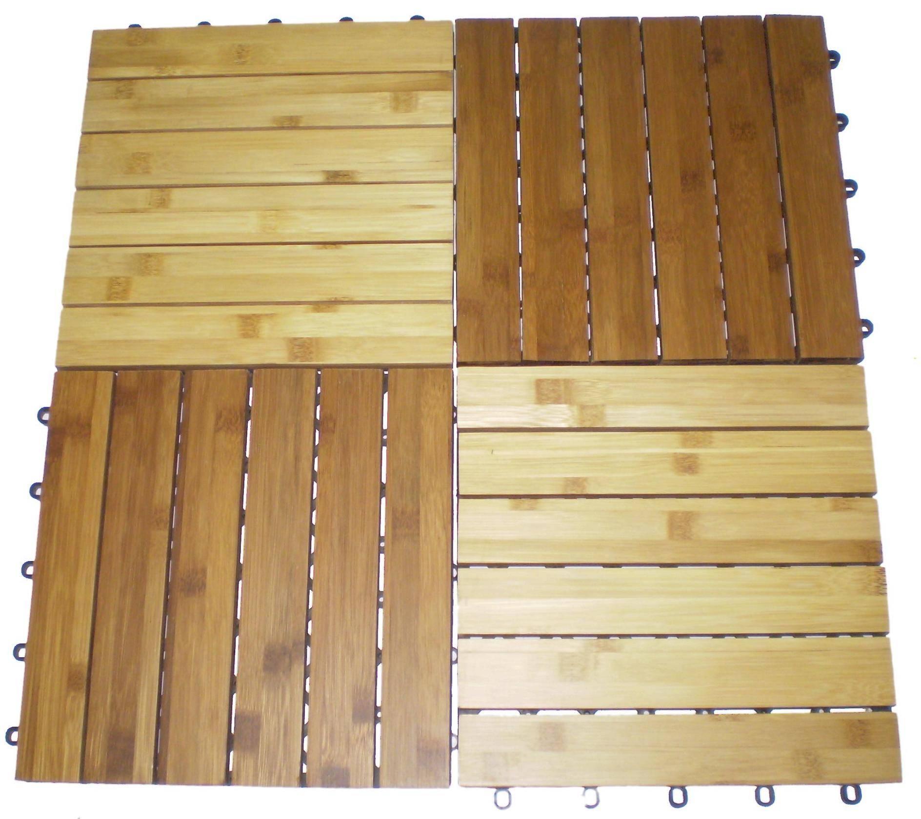 Bamboo decking Tile (indoor)
