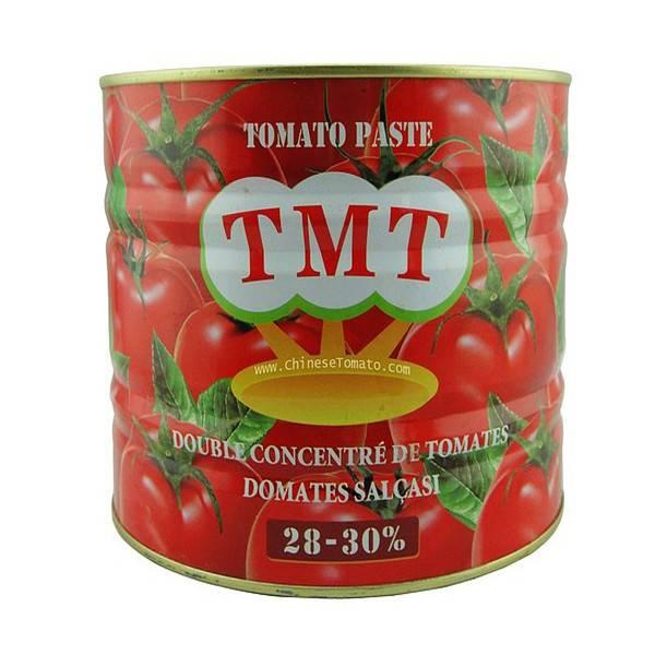 TMT Canned Tomato Paste Size2.2kg Supplier Mnufacture
