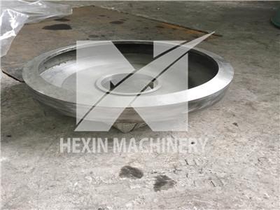 Defibering machine Spinning discs casting