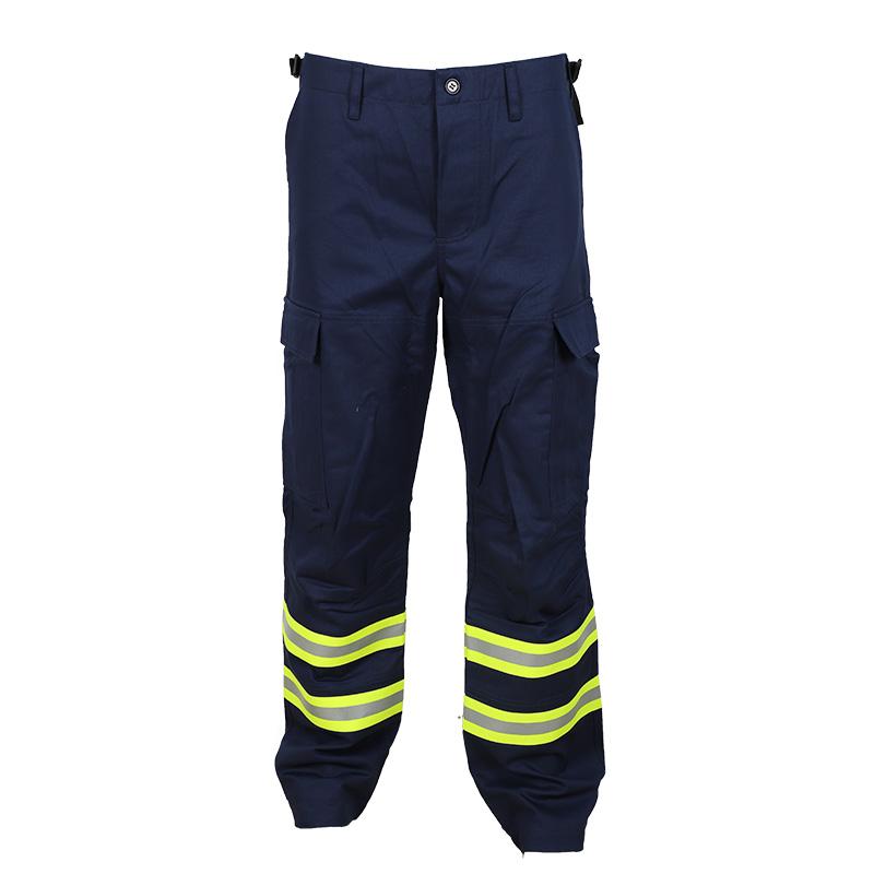 Affordable firefighter multi-pocket safety cargo pants for men