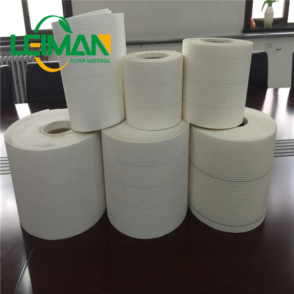 Filter making use materials Air filter paper 115gsm white color