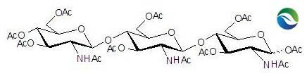 CAS: 53942-45-3 Chitotriose Undecaacetate