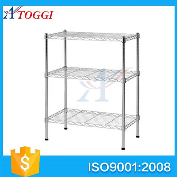 adjustable foldable plastic coated wire shelving