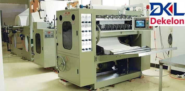 tissue toilet paper machine tissue roll machine - Dekelon Paper