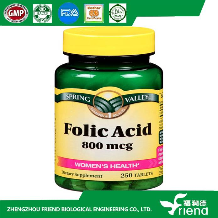 Manufacturer supply Folic acid