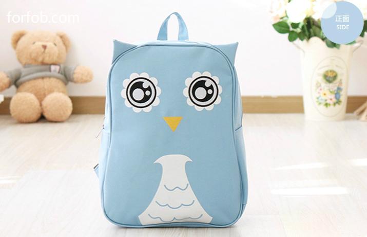 Outdoor Cartoon Cute Animal Backpack Waterproof Baby Bag For Young Kids