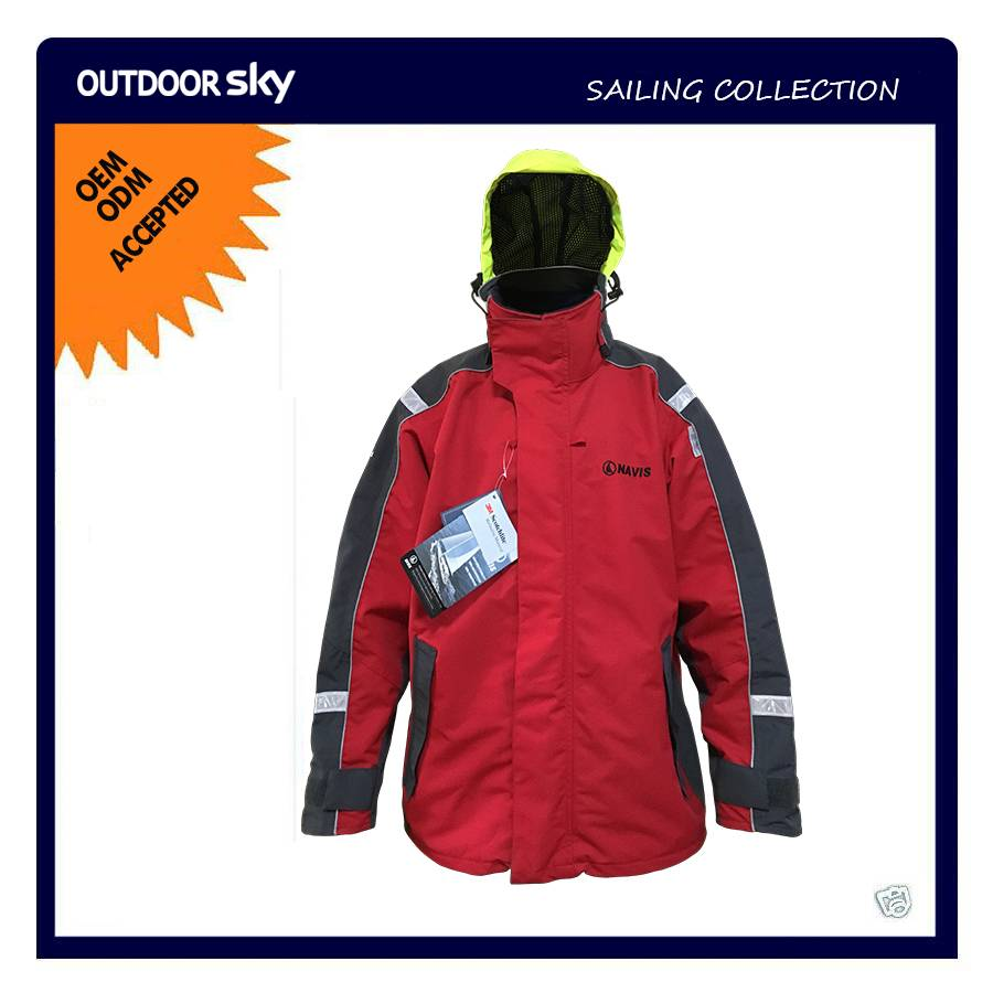 Technical Outerwear Sailing Jacket/ Yachting Jacket &Foul weather Rain wear & Boat jacket #HS4399