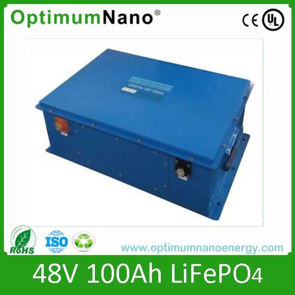 Solar system 48V 100AH LIFEPO4 battery