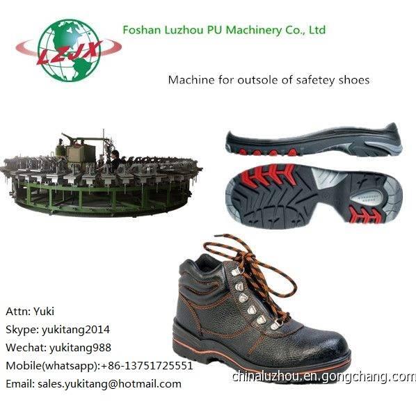 Shoe Moulding Machines