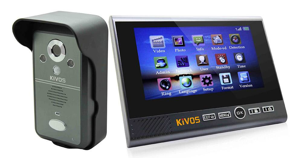 KDB700 Wireless video door phone
