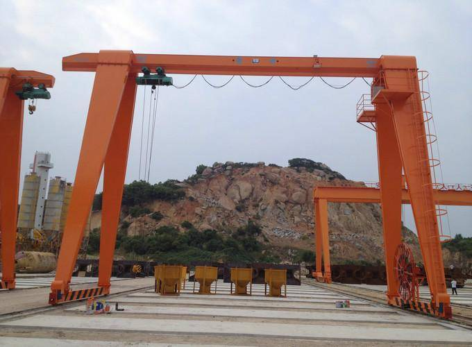 MH Single girder gantry crane 10ton price