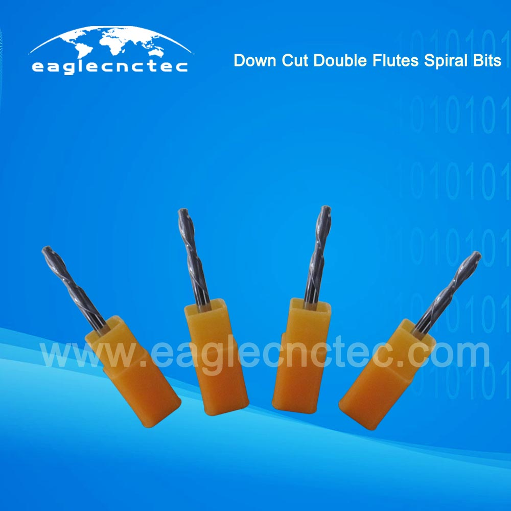 Double Flutes Spiral Downcut Router Bit For Sale