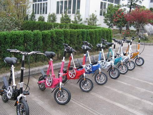 Electric Foldable mini bike