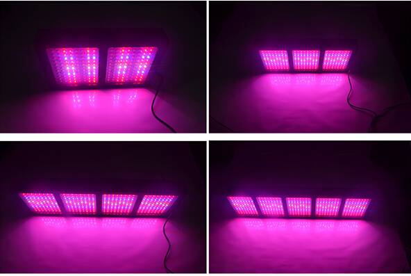 Hot sale high power 288W-1440W 3w chip 600w led grow light for medical plant