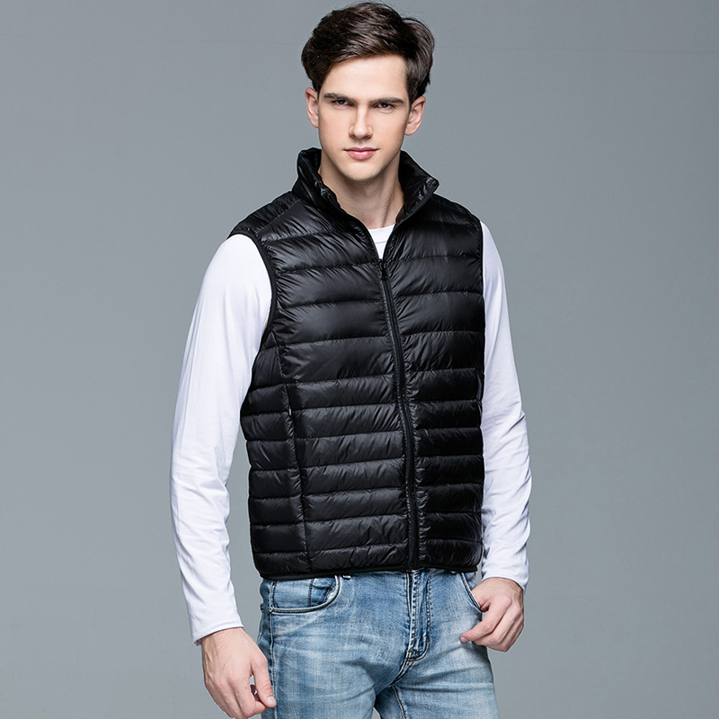 7 Colors Men Down Vest